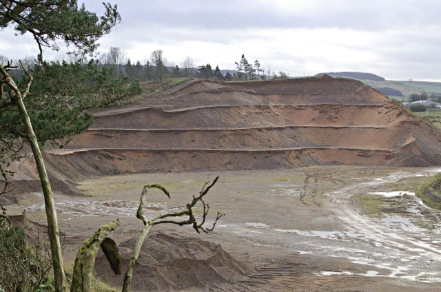 Wormit sand and gravel pit