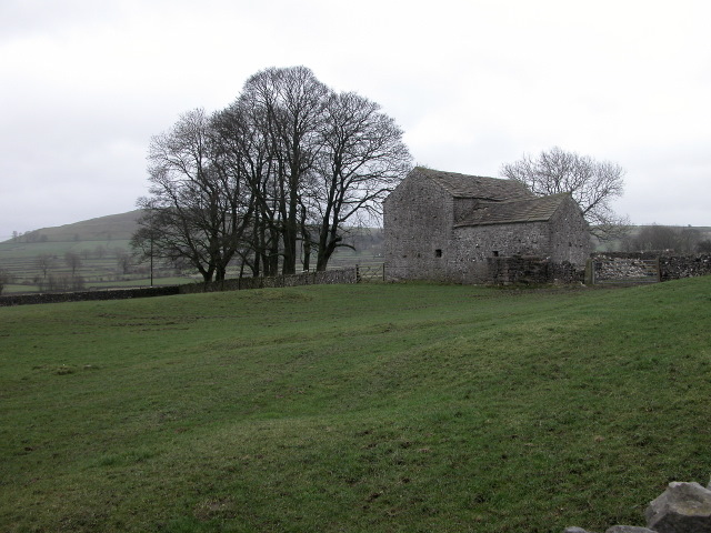 Barn and copse