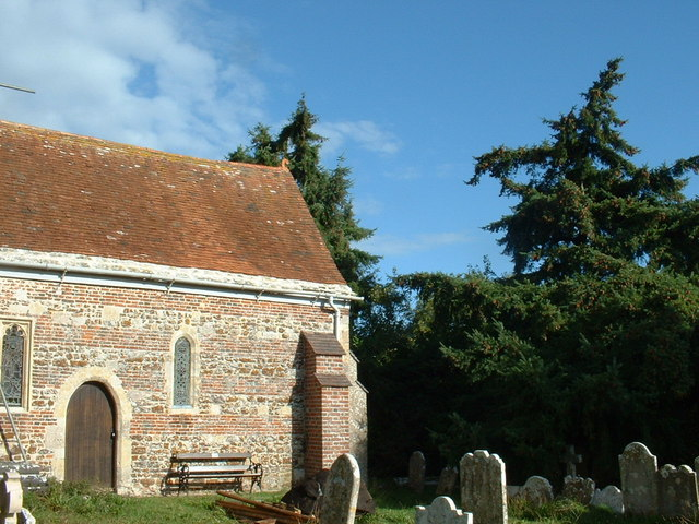 Sopley churchyard