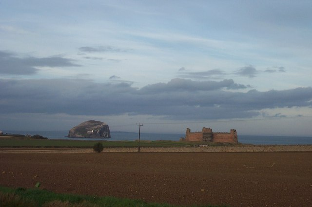 View towards Tantallon Castle