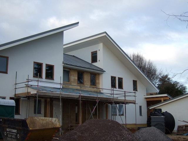 New Scandinavian style house
