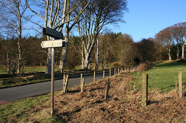 Bonnykelly junction south of New Pitsligo.