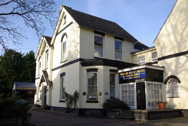 Thomas Paine Hotel, Thetford