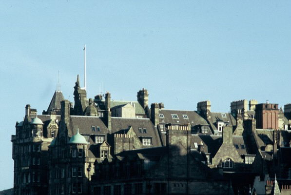 Edinburgh.  City of spires