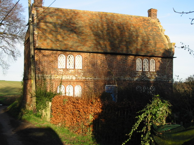 House near junction with Green Lane path.