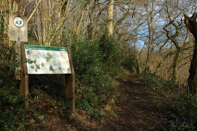 Midger Nature Reserve near Lower Kilcott