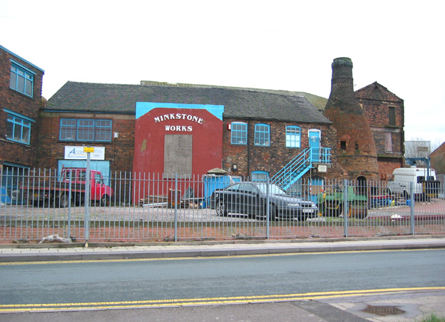 Bottle kiln, former Minkstone Works, Longton