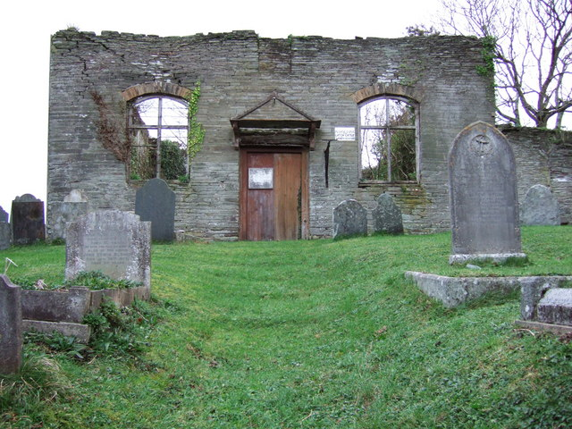 Congregational chapel and burial ground, Ford