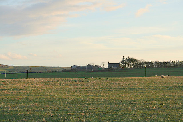 Rivehill Farm to the southeast.