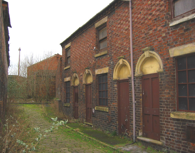 Workers' cottages, Short Street, Longton