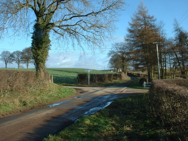 Crossroads near Sandford