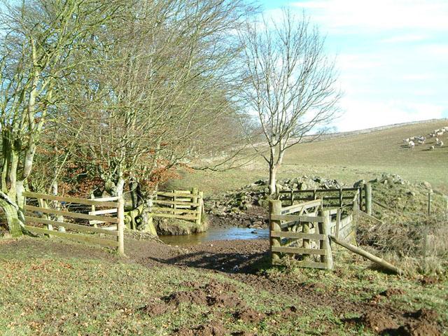Water ford, Greenknowe Farm