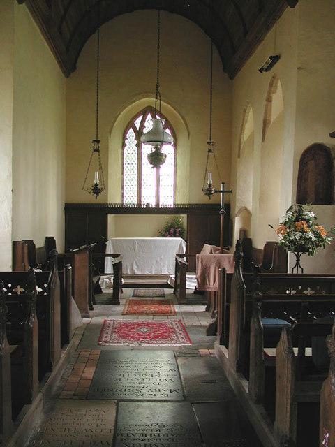 All Saints, Hemblington, Norfolk - East end