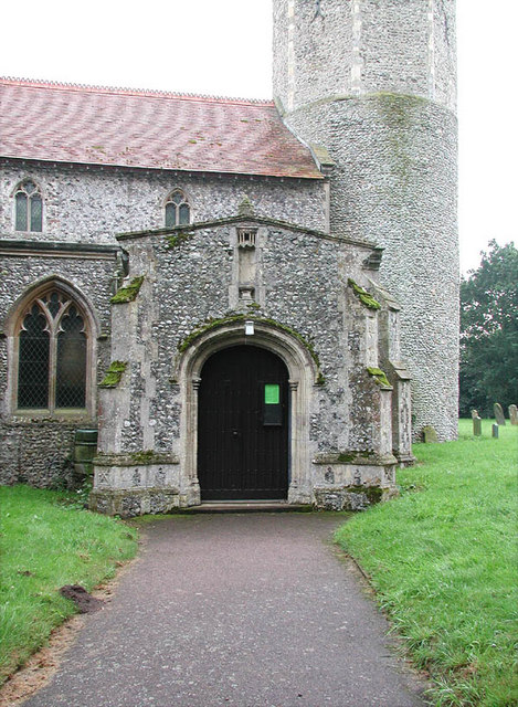 St George, Rollesby, Norfolk - Porch