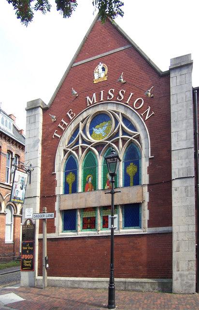 The Mission, Dagger Lane