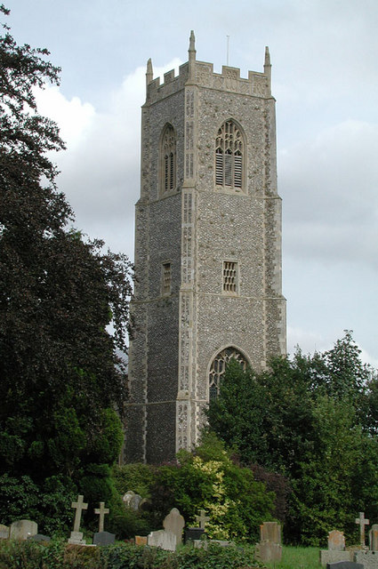 S Andrew & S Peter, Blofield, Norfolk - Tower