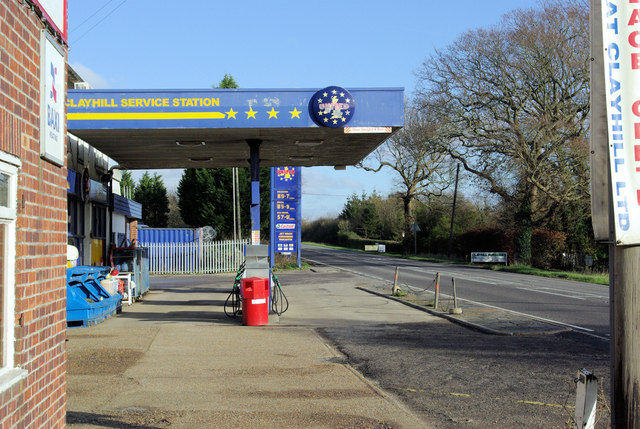 Clayhill Service Station