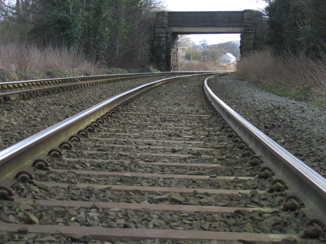 Railway Bridge near Stryt Issa Farm