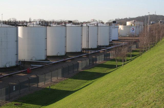 Colwick Oil Terminal