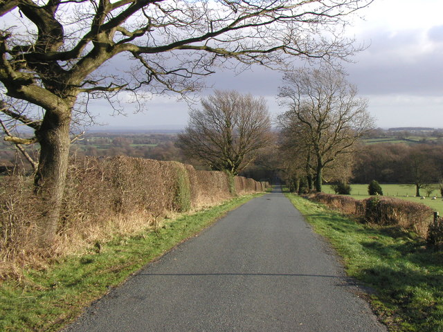The road from Stock Beck Moor to Kirkby Malzeard