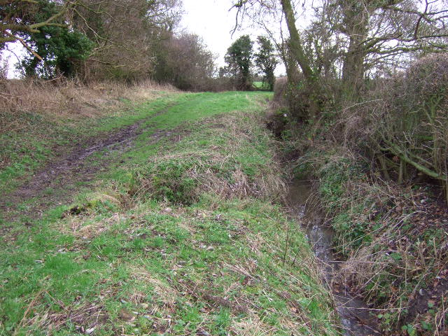 Track and ditch