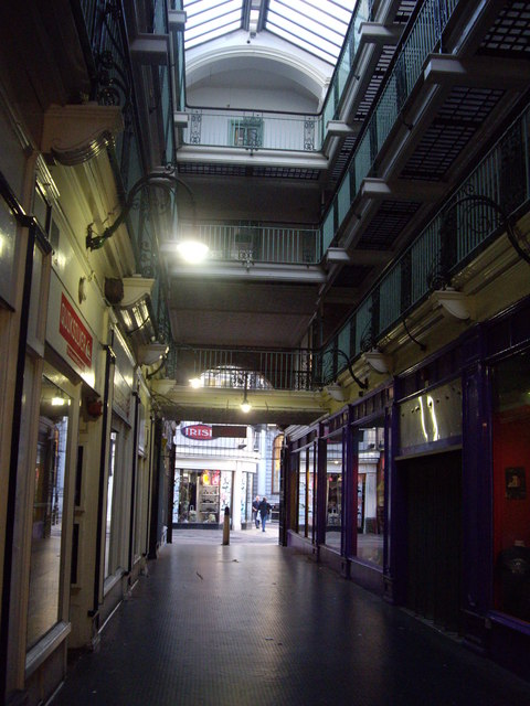 Interior Of Silver Arcade, Leicester