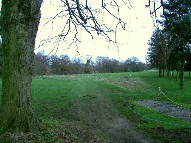 Masham Golf Course at dusk