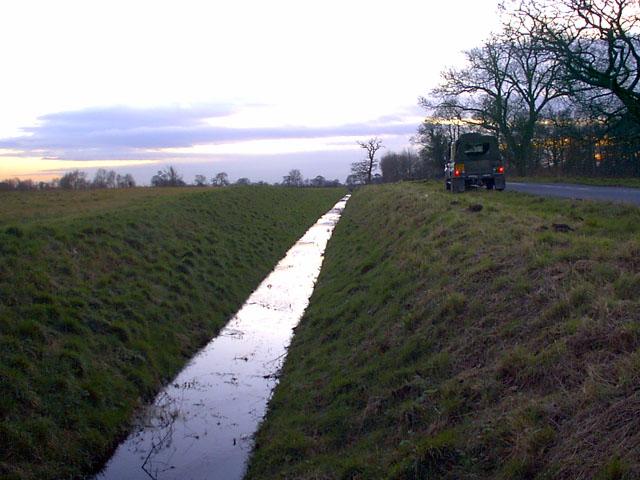 Drainage Dyke towards A1041