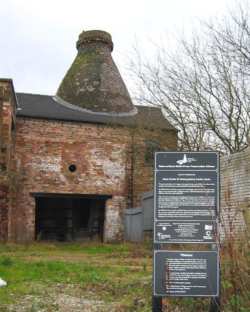 Bottle kiln, Enson Works, Longton