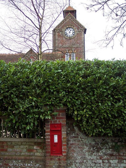 The Tower at Tower House with Post Box
