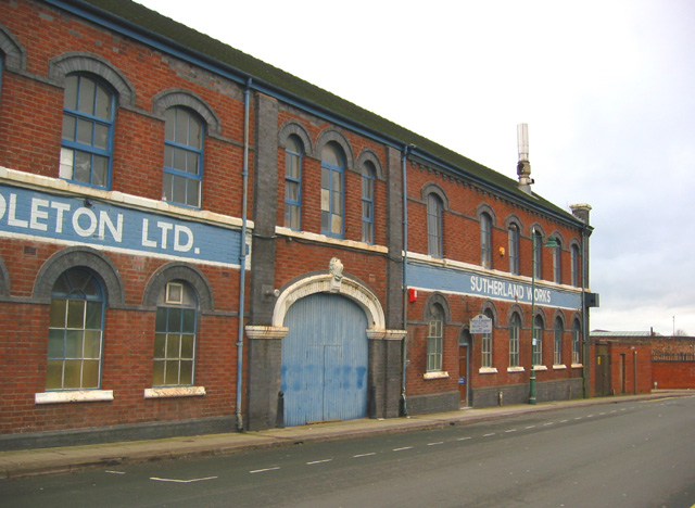 Sutherland Works, Normacot Road, Longton