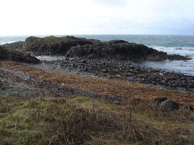 Coast near West Hynish