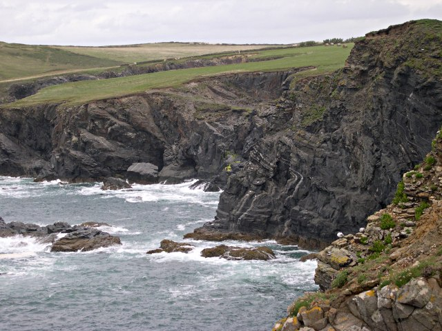 Rocky Coastline north of Trevone Bay