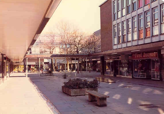 Historic Stevenage New Town Centre