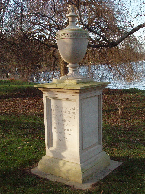 Memorial to Queen Caroline by her Serpentine