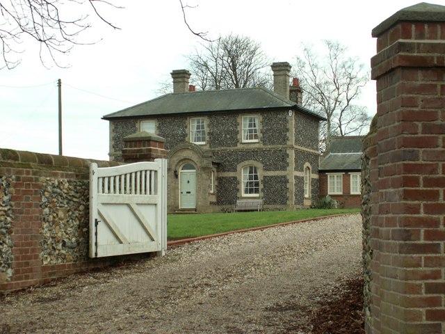 Farmhouse at Hilltop Farm, Little Wratting