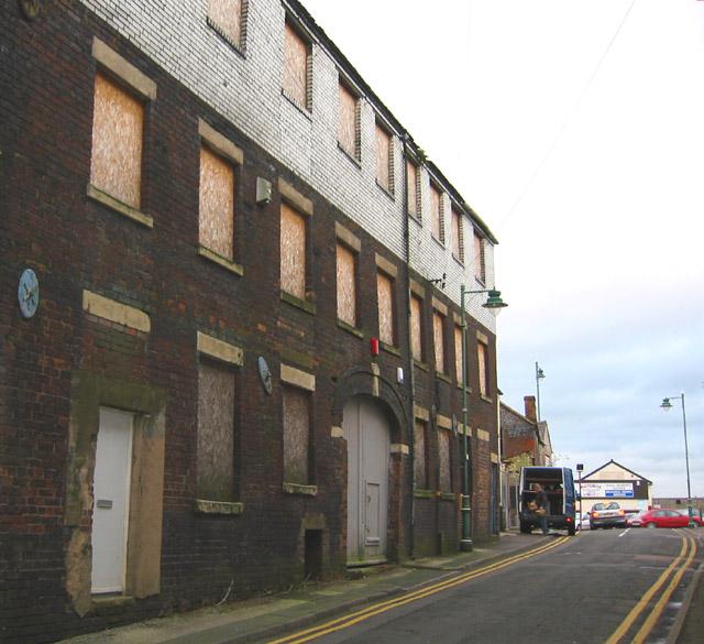 Disused factory, Chelson Street, Longton