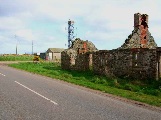 Ruin near West Freugh Airfield