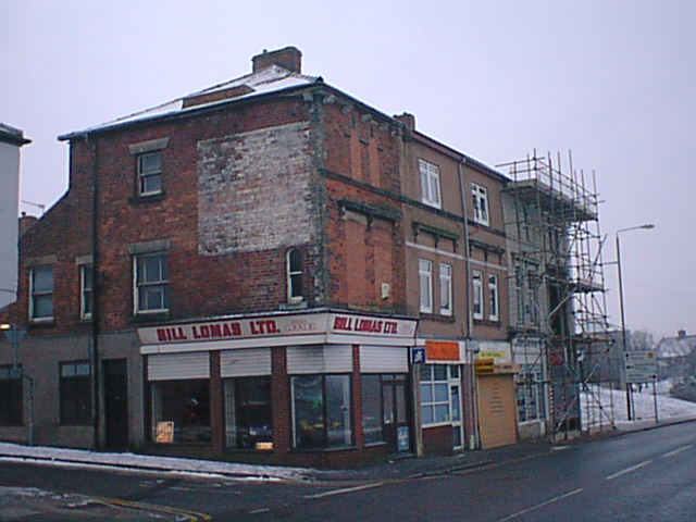 Clay Cross - Junction of High Street and King Street