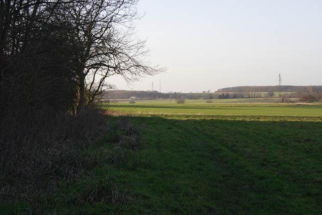 Farmland by Dunsby Wood