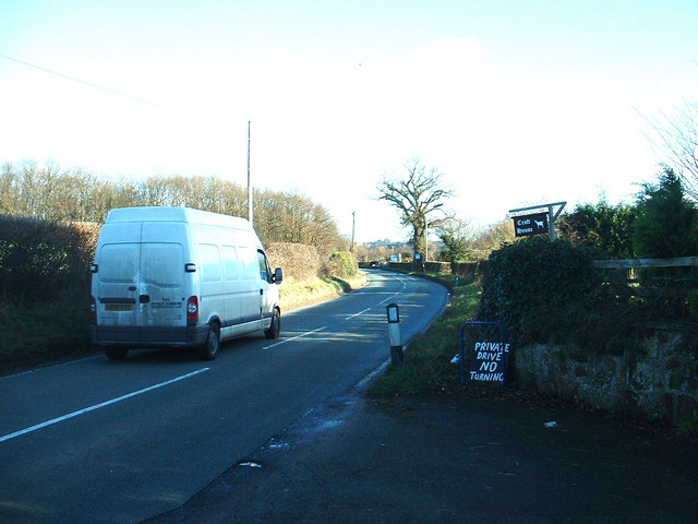 B4397 near Ruyton XI Towns