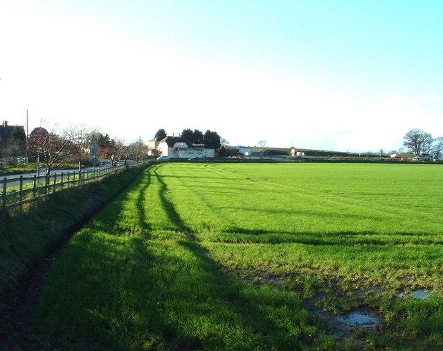 Farmland near Shotatton