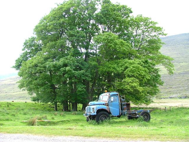 Old Truck at Tornapress