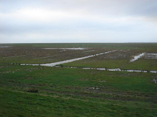 The edge of the Ribble estuary, near Banks