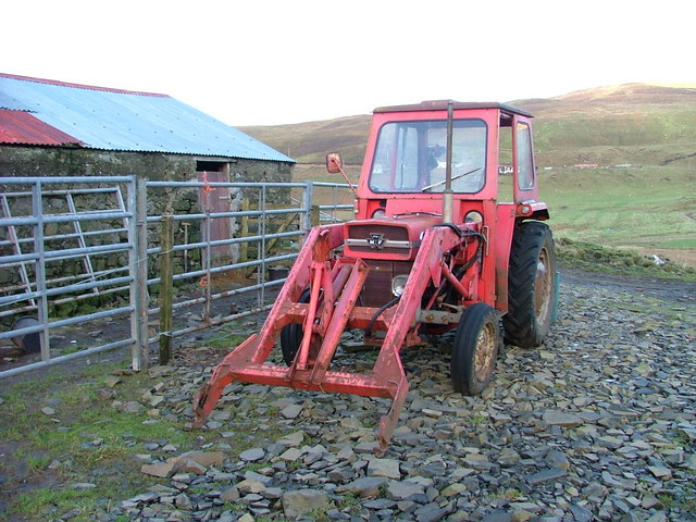Old Massey Ferguson Tractor.