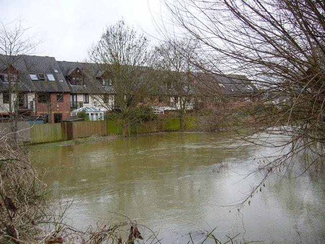 Bulstake Stream and Marlborough Court