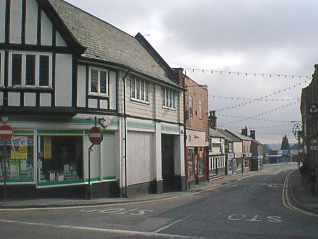 Clay Cross - Market Street (viewed from High Street)