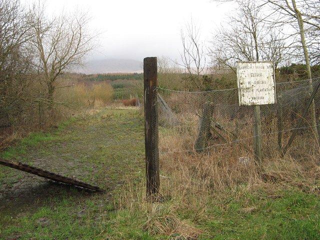 Former landfill site, Garrochar