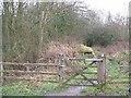 SP6237 : Gate into Westbury Wild by Snidge