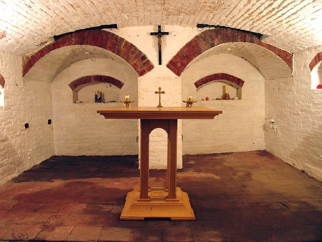 Sue Ryder Crypt Chapel, Little Walsingham, Norfolk